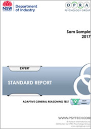 AdaptG Sample Report thumb